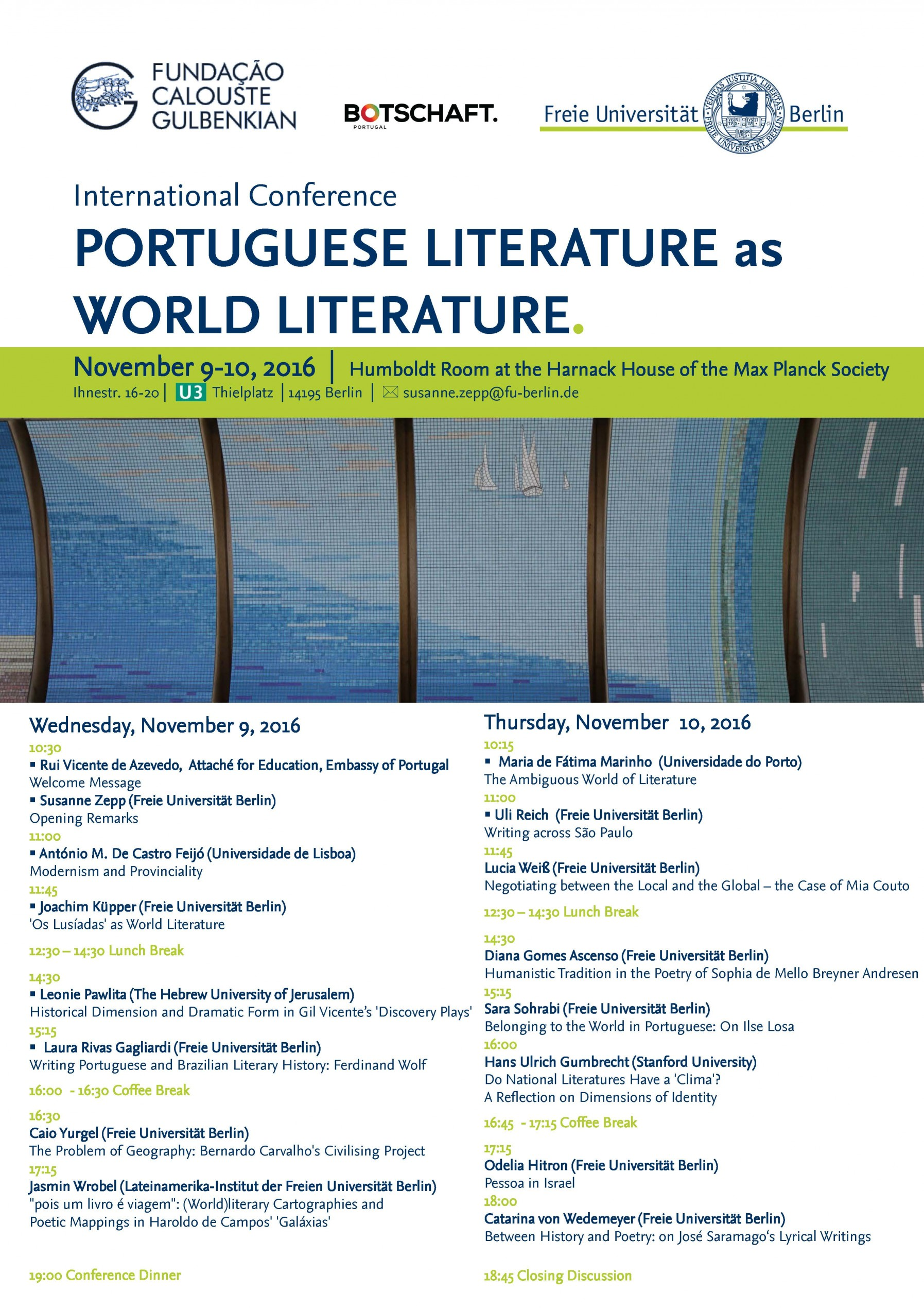 Plakat Portuguese Literature reduced