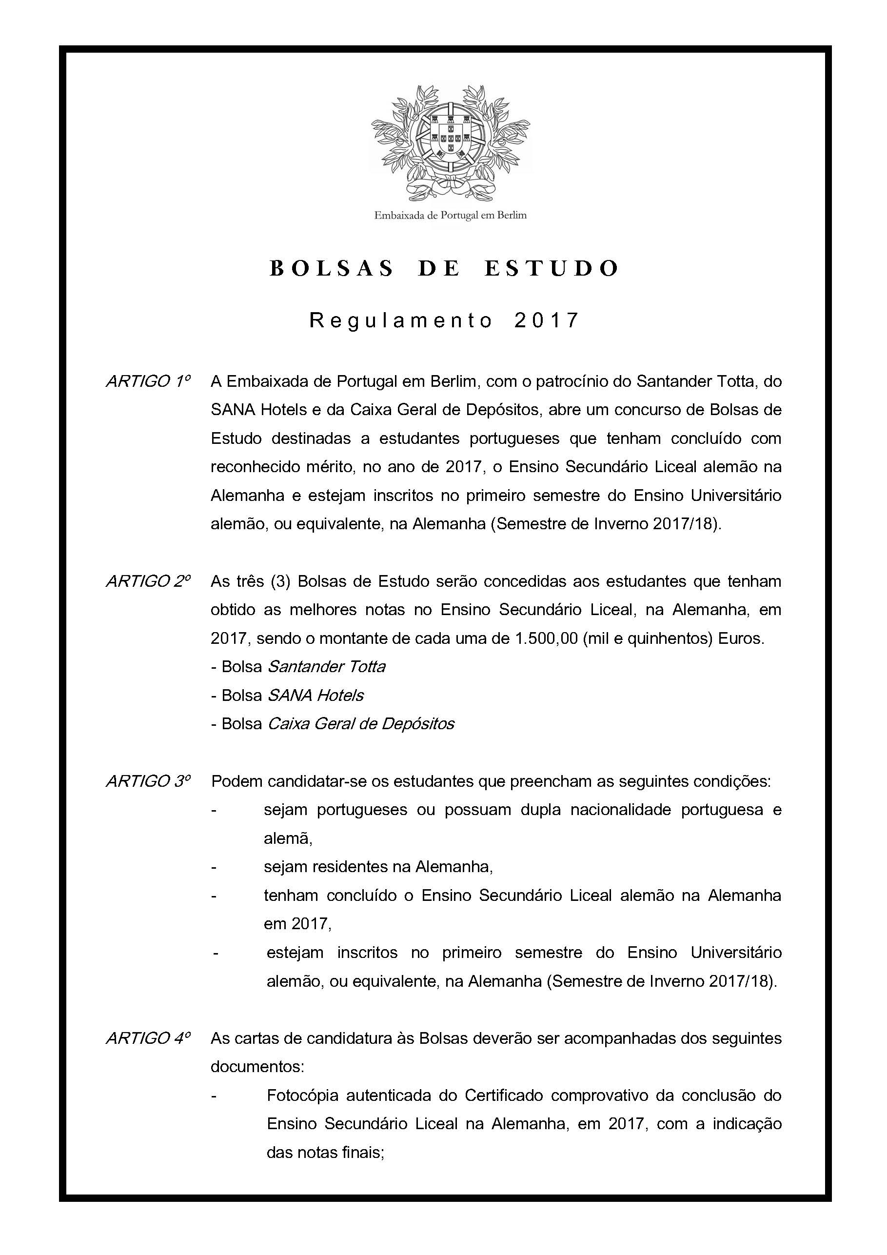Regulamento Bolsas2017 Page 1